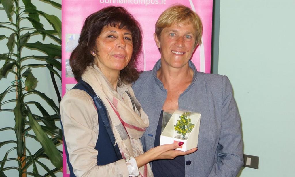 Alla giornalista Claudia Bonasi va il premio Donne in Campus 2017