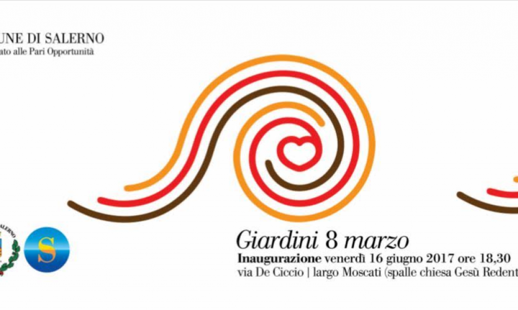 "Inaugurati i ""Giardini 8 Marzo"" a Salerno"