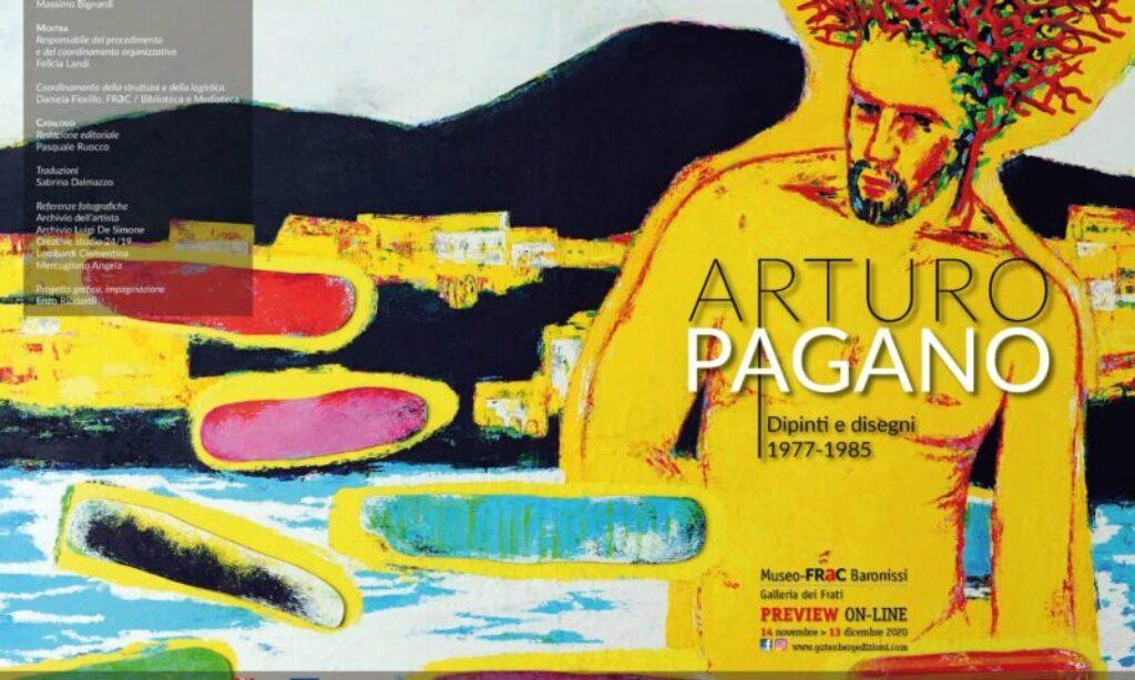 Arturo Pagano (Opere 1977-1985) al FraC di Baronissi: anteprima online